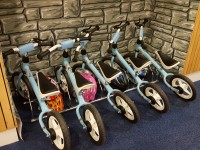 3-5 bikes